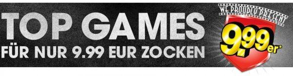 GameStop 9,99 Aktion für je ca. 40€ (Forza 6, Destiny, PES16)