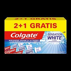 [REWE BUNDESWEIT] Colgate Sensation oder Max White Zahncreme 75ml für 0,69€! [KW38]