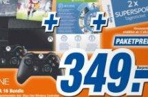 Xbox One, 2x Controller, FIFA 16 und Sky Gutscheine @ Expert TechnoMarkt