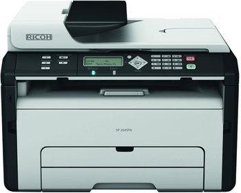 Ricoh SP204SFN Monochromlaser-Drucker+Kopierer+Scanner+Fax statt 89,84 zu 69,98 Euro @wirhabensnoch.de
