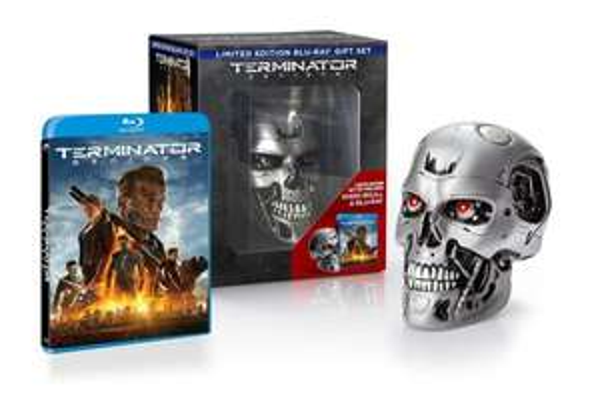 Terminator Genisys Blu-ray Skull Edition - Englische OV