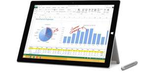 Surface 3 Pro 128GB i5 866€ über Amazon UK