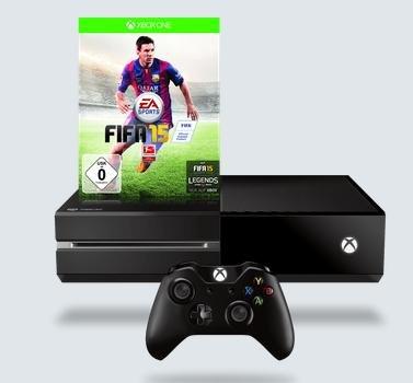 Xbox One 500GB + FIFA 15 für 324€ bei Smartkauf.de