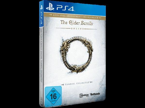 [PS4/Xbox One] The Elder Scrolls Online: Tamriel Unlimited (tlw. Steelbook) 29,99€ (mit Gutschein und Abholung) @ Saturn.de