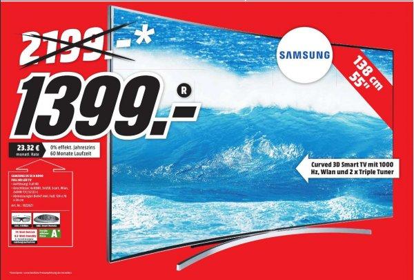 Samsung UE 55 H 8090 Curved 3D (lokal MediaMarkt Neunkirchen Saar)