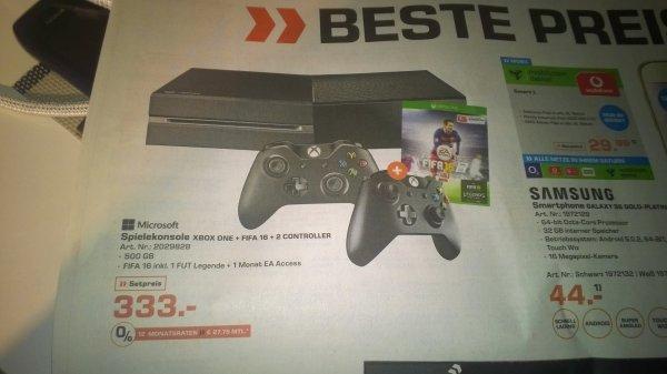 LOKAL Heilbronn: Xbox One + Fifa 16 + 2 Controller+ 1 Monat EA Acces+ 1 Fut Legende