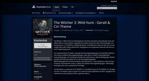 The Witcher 3: Wild Hunt - Geralt & Ciri Theme PS4