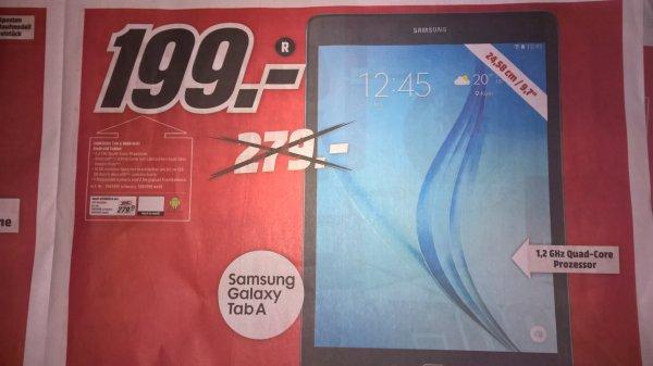 [Lokal? Media Markt FFM Borsigallee] Galaxy Tab A 9.7 für 199€