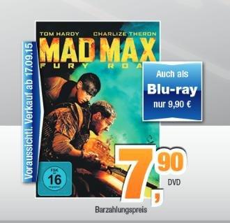 [Regional Norddeutschland] Mad Max Fury Road BD 9,90, DVD 7,90 bei expert Bening