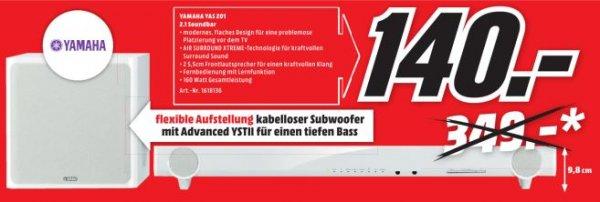YAMAHA YAS-201 Soundbar - 140€ [lokal MM Heilbronn]