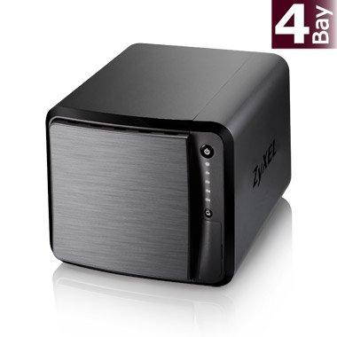 eBay WOW | ZyXEL NAS 540 (4-Bay, 2x GB Ethernet, 3x USB 3.0, Quiet FAN) für 129,90€