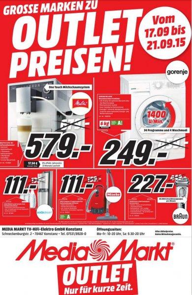 [Lokal] [MM Konstanz] Braun Series 9 9095, Melitta E 970 Kaffeevollautomat u.a.