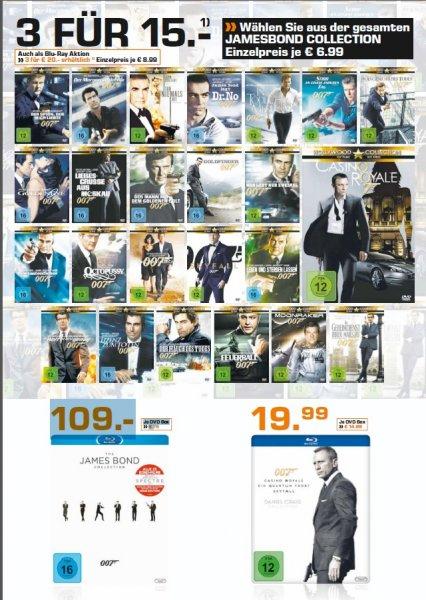 [Lokal Saturn Köln Hansaring] James Bond Aktion bei Saturn DVD oder BluRay