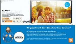 Sony TV Curved KD 65S9005B 800€ Ersparnis Gelsenkirchen Buer