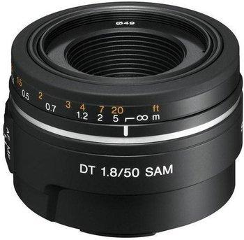 Sony DT 50mm f1.8 SAM Objektiv für Minolta/Sony Alpha Bajonett eBay 109,-