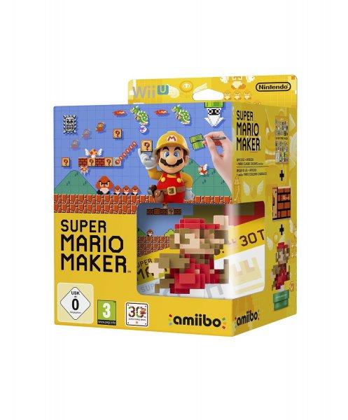 Super Mario Maker + amiibo Mario Classic Color (Wii U) für 48,74€ @Amazon.fr