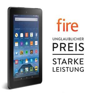 Amazon - Fire, 17,7 cm (7 Zoll) Display, WLAN, 8 GB - mit Spezialangeboten (ab 30.09.2015)