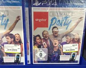 Singstar Ultimate Party für die PlayStation 4 PS4 lokal Mediamarkt Borsighallen Berlin