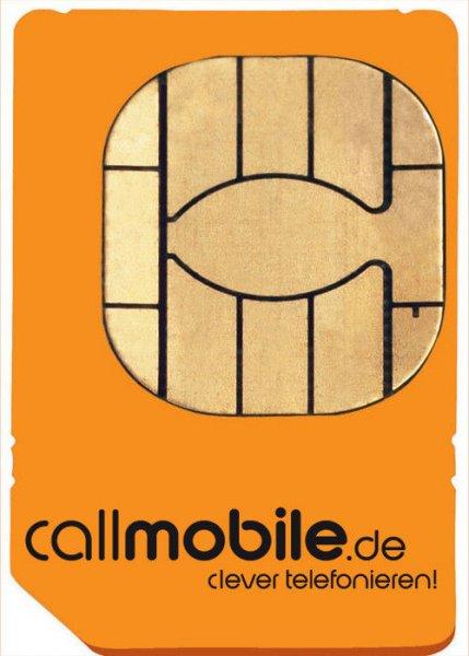 (Wieder da) Callmobile Karte mit 17€ Amazon Gutschein für 2,95€