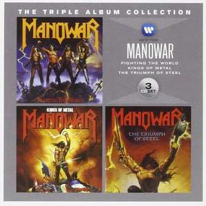 Amazon Prime : Manowar - The Triple Album Collection Box-Set - Nur 6,66 €