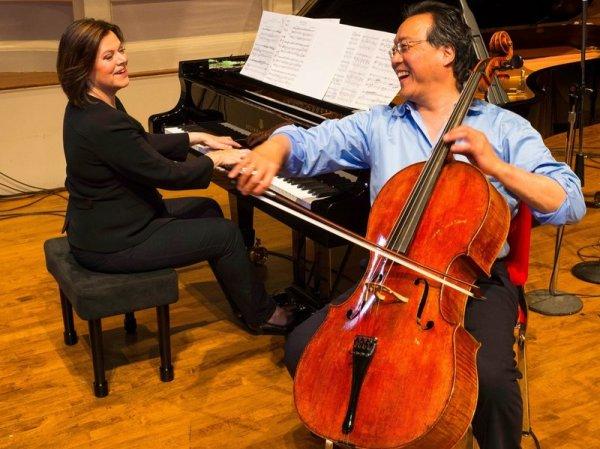 [NPR First Listen] Yo-Yo Ma & Kathryn Stott, 'Songs From The Arc Of Life'