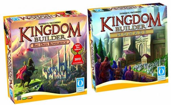 (Brettspiel/Prime) Kingdom Builder Bundle - Hauptspiel + Erweiterung Nomads