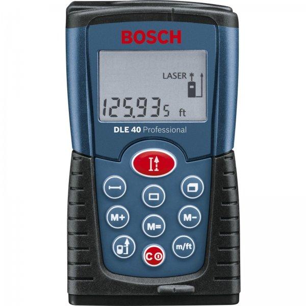 Bosch DLE40 Laser-Entfernungsmesser zum bisherigen Bestpreis von 55€ [@eBay] - Abgelaufen