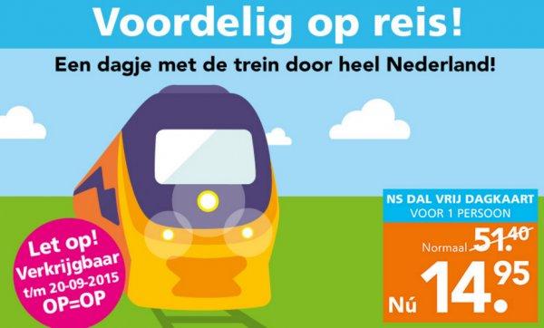 Einen Tag Bahn fahren in den Niederlanden für 14.95,- @Blokker