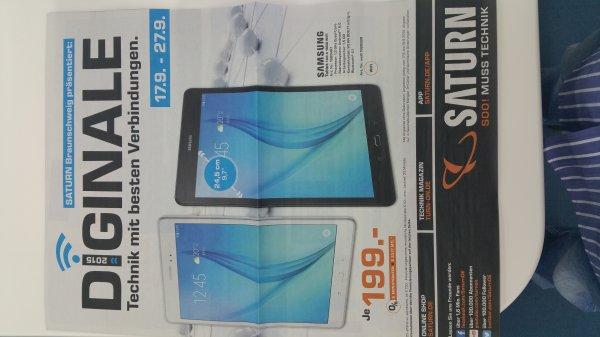 (Lokal) Saturn Braunschweig Samsung Galaxy Tab A 9.7 Wi-Fi für