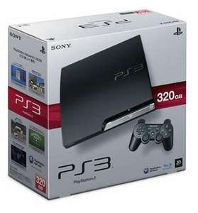 Sony PlayStation 3 Slim 320 GB (CECH-3004B) mit DualShock 3 Wireless Controller für 229 € inkl.VSK