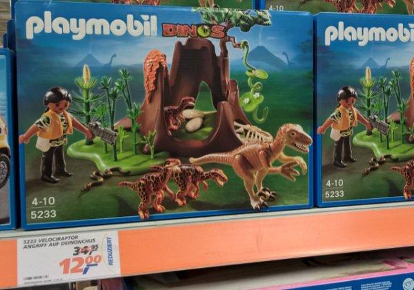 Playmobil Dinos Velociraptor bei Real für 12€ (statt 17€)