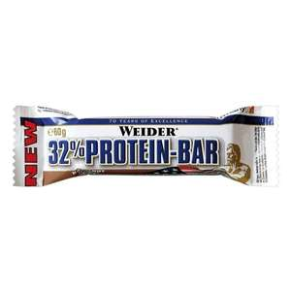 [Amazon-Marktplatz] Weider 32% Protein Bar 24 a 60g Riegel Erdbeere / Banane