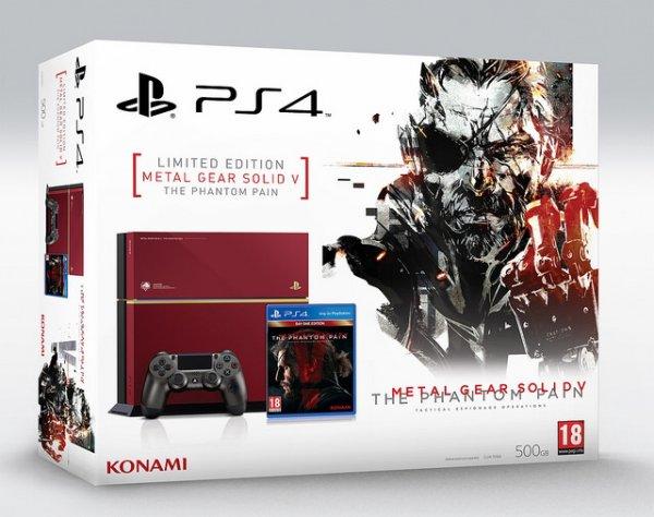 Playstation 4 Metal gear solid V Edition