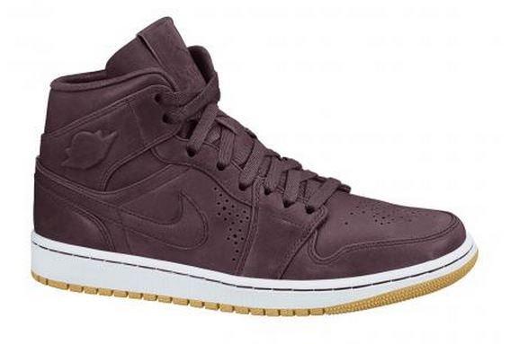 [Ballside] Nike Air Jordan 1 Mid- Burgundy für knapp € 77