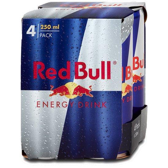4 Dosen Gratis Red Bull bestellen @ redbull.com