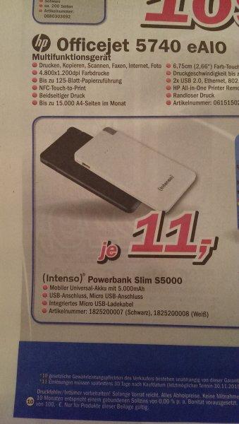 Intenso Powerbank Slim S5000