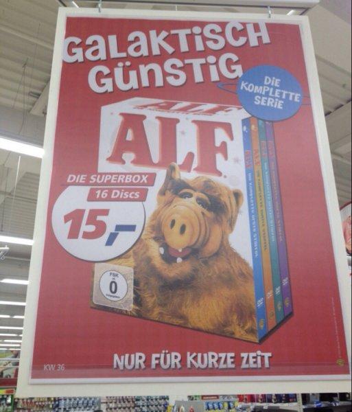 Alf Komplett DVD Box 16 Disks bei Real Braunschweig für 15,-€