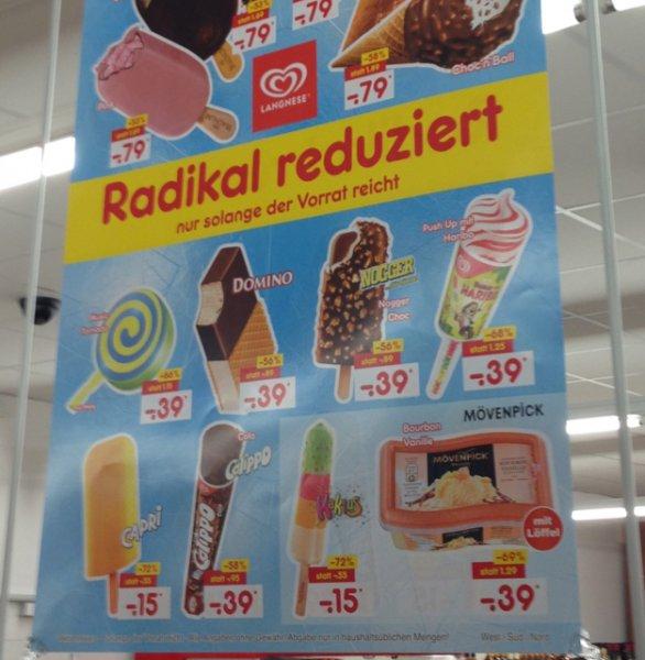 Lagnese Eis zum Spitzenpreis (Netto, evtl. lokal)