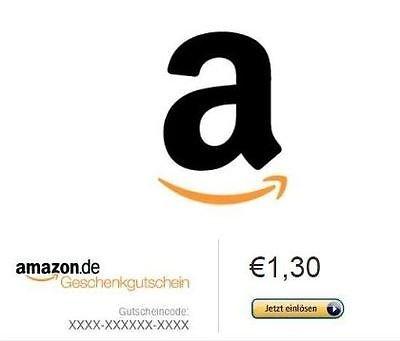 [eBay] 1,3€ Amazon Guthaben