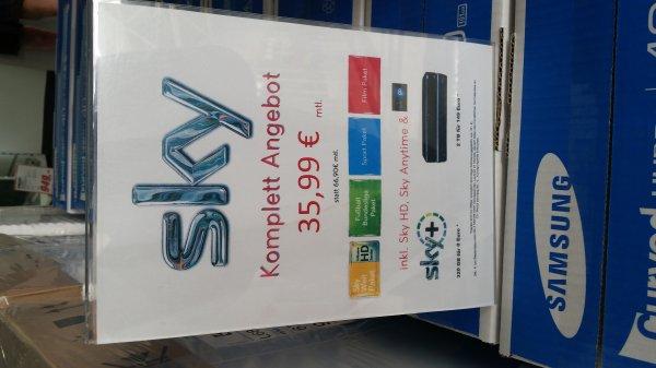 Sky Komplett 35,99 €