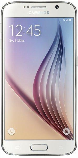 Samsung Galaxy S6 64GB! in weiß simlock-frei mit Telekom-Branding! für 399 € @ Saturn.de