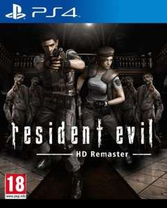 [Ebay] Resident Evil HD Remastered PS4 PlayStation Network Key Code UK PSN
