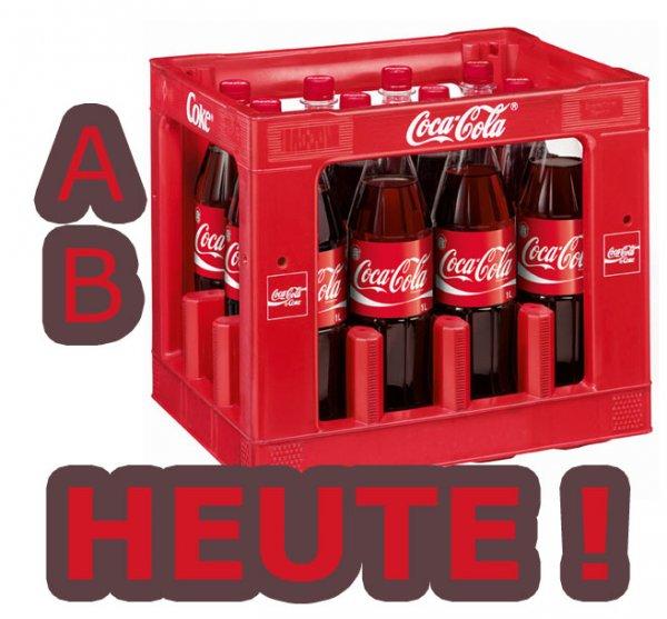 [Kaufland] Coca Cola 12 x 1L Mehrweg für 6,96€ (Literpreis 0,58€)