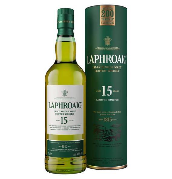[Abgelaufen] Laphroaig Limited Edition Single Malt Scotch Whisky 15 Jahre 63,18€ (+2 Paar Socken)