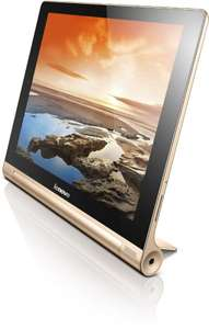Lenovo Yoga Tablet HD+ 25,6 cm (10,1 Zoll FHD IPS) champagne gold (SPECIAL EDITION) @Amazon
