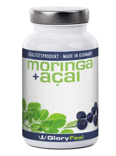 Moringa Oleifera Bio Kapseln 480 mg incl. 80mg Acai,