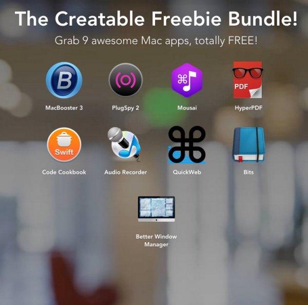 [Mac] Freebie Bundle, 9 Apps kostenlos