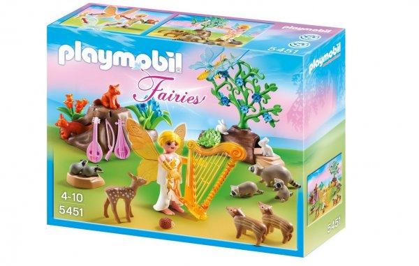 (Amazon Prime) PLAYMOBIL 5451 - Harfenfee beim Waldkonzert für 7,19 Euro
