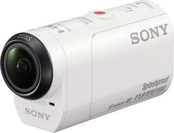 Sony HDR-AZ1 Mini-Format Action Kamera (Spritzwassergeschützte mit Exmor R CMOS Sensor, Bildstabilisator, Wireless Lan, NFC Funktion) für 155€ @Notebooksbilliger