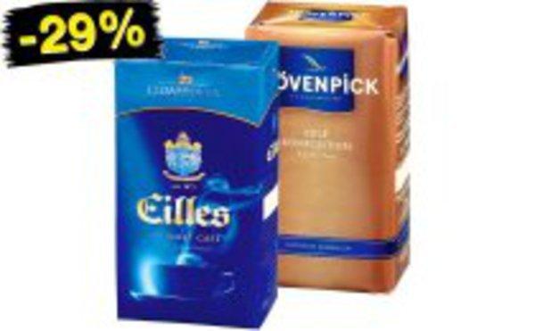 Mövenpick und Eilles Kaffe bei Netto für 3,33 Euro